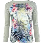 Gaudi Top Strass Sweatshirt