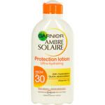 Garnier Ambre Solaire Protection Lotion High SPF30 200ml Kosmetika na opalování W Voděodolné