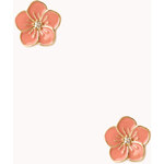 Forever 21 Sweet Floral Studs