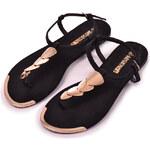 Letní sandály Hailys černé