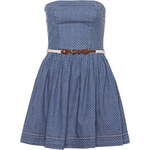 HILFIGER DENIM Bandeau-Kleid FAYNA blau