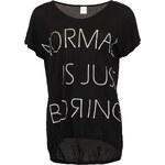 Černé triko Vero Moda Boring