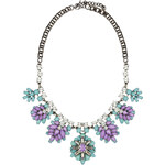 RUBIES AND ROCKS Statement-Kette BELLE NECKLACE lila
