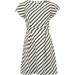 Černobíle pruhované šaty Vero Moda