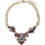 RUBIES AND ROCKS Statement-Kette AMOUREUX rot