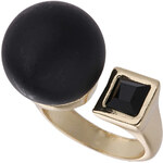 Topshop Cube and Ball Ring