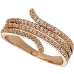 Topshop Premium Cubic Zirconia Wrap Ring