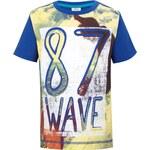 s.Oliver chlapecké tričko s výrazným potiskem modrá
