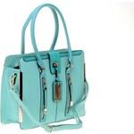 Bessie London kabelka s kovovými detaily zelená
