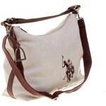 U.S. Polo Assn. kabelka Zeudi hnědá