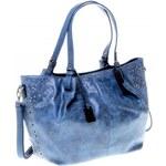 Tom Tailor poutavá modrá dámská kabelka