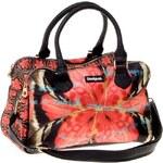 Desigual červená dámská kabelka na zip
