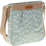 Brakeburn tyrkysová dámská kabelka na zip