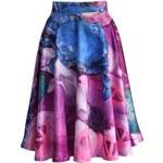 CHICWISH Dámská sukně Midi Feast of Chic Velikost: S