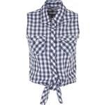 Terranova Short checked shirt