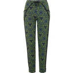 Topshop Tribal Print Jersey Trousers