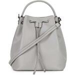 Topshop Premium Large Leather Duffle Bag