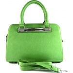 Zelená kabelka do ruky Pristine Bellasi