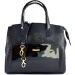 Černá kabelka do ruky Lucciane 3070