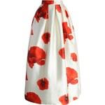 CHICWISH Dámská sukně Maxi Glamorous Poppy Velikost: L
