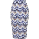 Topshop **Aztec Bodycon Skirt by Glamorous
