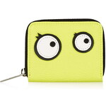 Topshop Cartoon Eyes Small Zip-Around Purse
