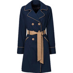 BODYFLIRT Trenchcoat in blau für Damen von bonprix