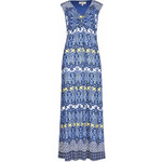 Marks and Spencer Knot Front Floral Maxi Dress