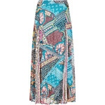 Marks and Spencer Printed Maxi Skirt