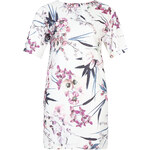 Marks and Spencer PLUS Oriental Floral Kimono Tunic Dress