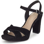 Marks and Spencer Suede Platform High Heel Sandals with Insolia®