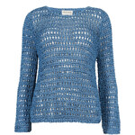 Marks and Spencer Rear Split Tape Knit Jumper