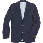 Marks and Spencer Linen Blend Notch Lapel Blazer (5-14 Years)