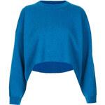 Topshop Knitted Clean Wool Crop Jumper