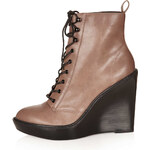 Topshop ARIA Lace Up Wedges