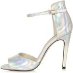 Topshop REBEL Mirror 2-Part Sandals