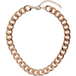 Topshop Chunky Curb Chain Collar