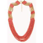 Forever 21 Free Spirit Beaded Necklace