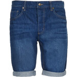 Topman Mens Mid Wash Slim Denim Shorts