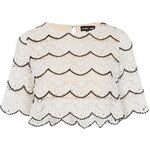 Topshop **Lace Falcon Wings Top by Sister Jane
