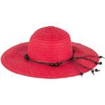 Art of Polo Dámský letní klobouk - červený cz15107.5