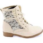 COLORFUL Kotníkové boty s krajkou 9128BE Velikost: 36