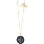 Accessorize Lange Halskette mit Anker-Anhänger