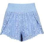 Topshop Scallop Crochet Shorts