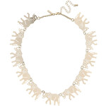 Topshop Marching Elephant Necklace