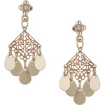 Topshop Filigree Drop Earrings