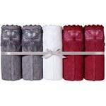 Blancheporte Kalhotky z žakárové bavlny, sada 5 ks sada tmavá, velikost 46/48