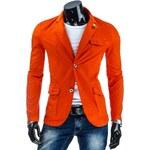 streetIN Pánské sako - oranžová Velikost: 2XL