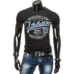 streetIN Pánské tričko - černá Velikost: L