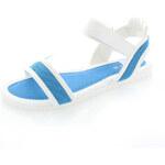 Modro-bílé sandály Fatira EUR38